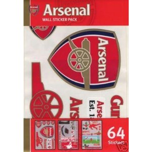 Football wall stickers football wall sticker football for Arsenal mural wallpaper